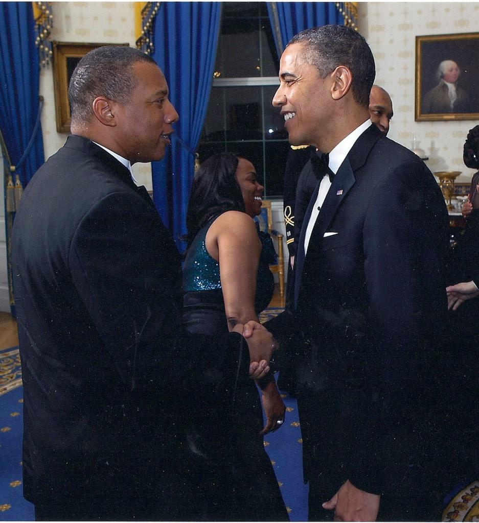 John Register and President Obama