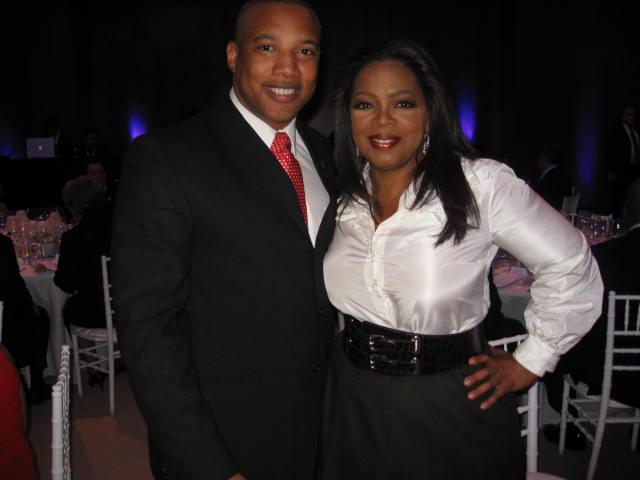 John Inspires Oprah Winfrey