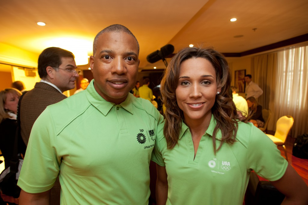 Olympian Lolo Jones inspired by John Register