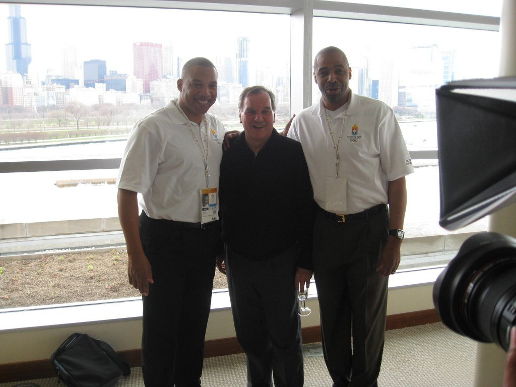 John with Michael Conley and Former Chicago Mayor Daley