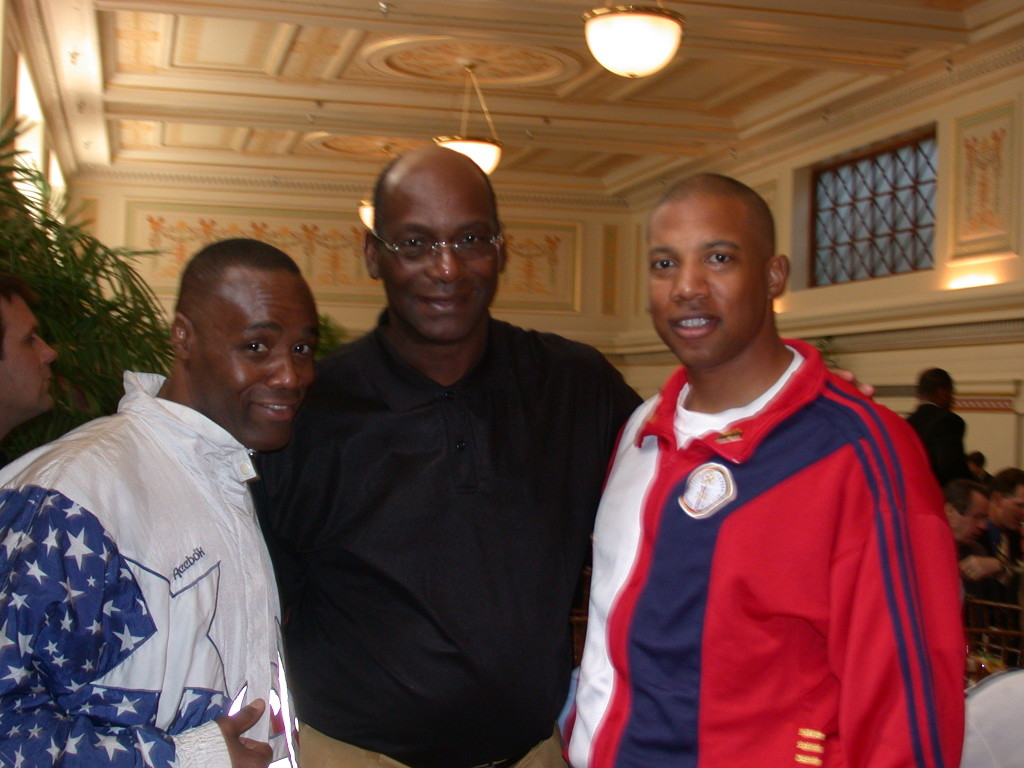 John Register, Bob Beamon and Buddy Lee