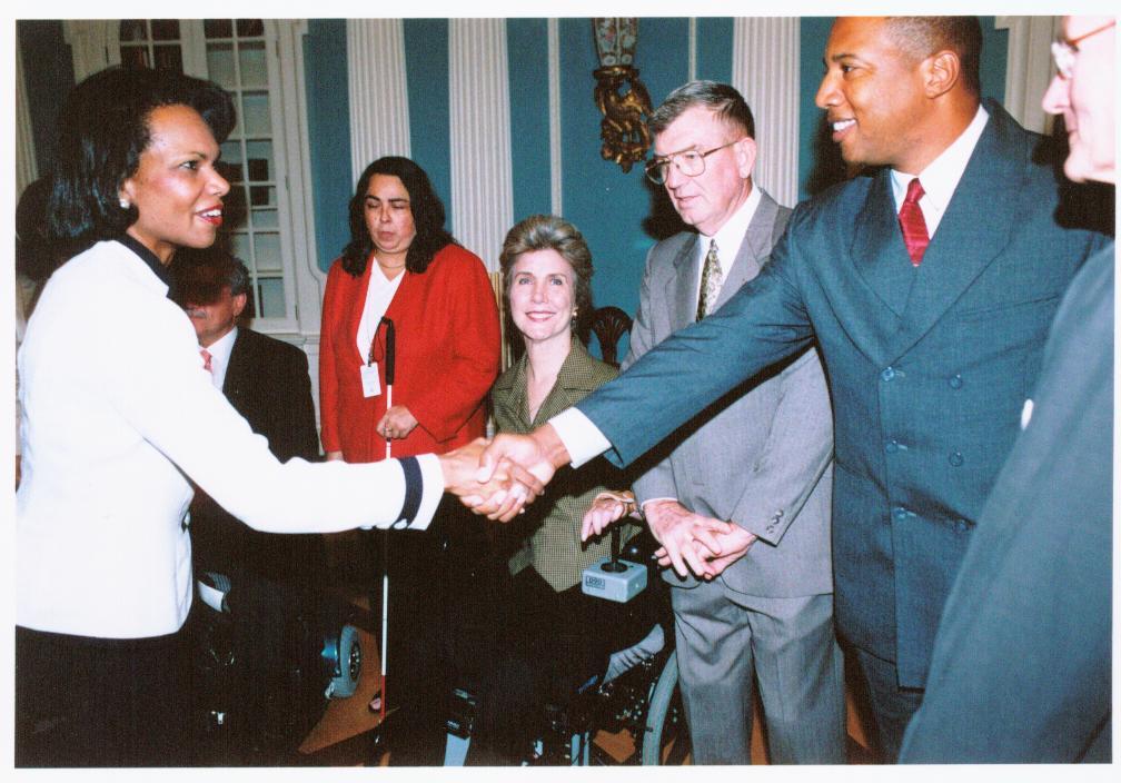 John and Condoleeza Rice
