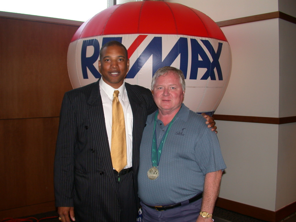 John and ReMax President Dan Linigier