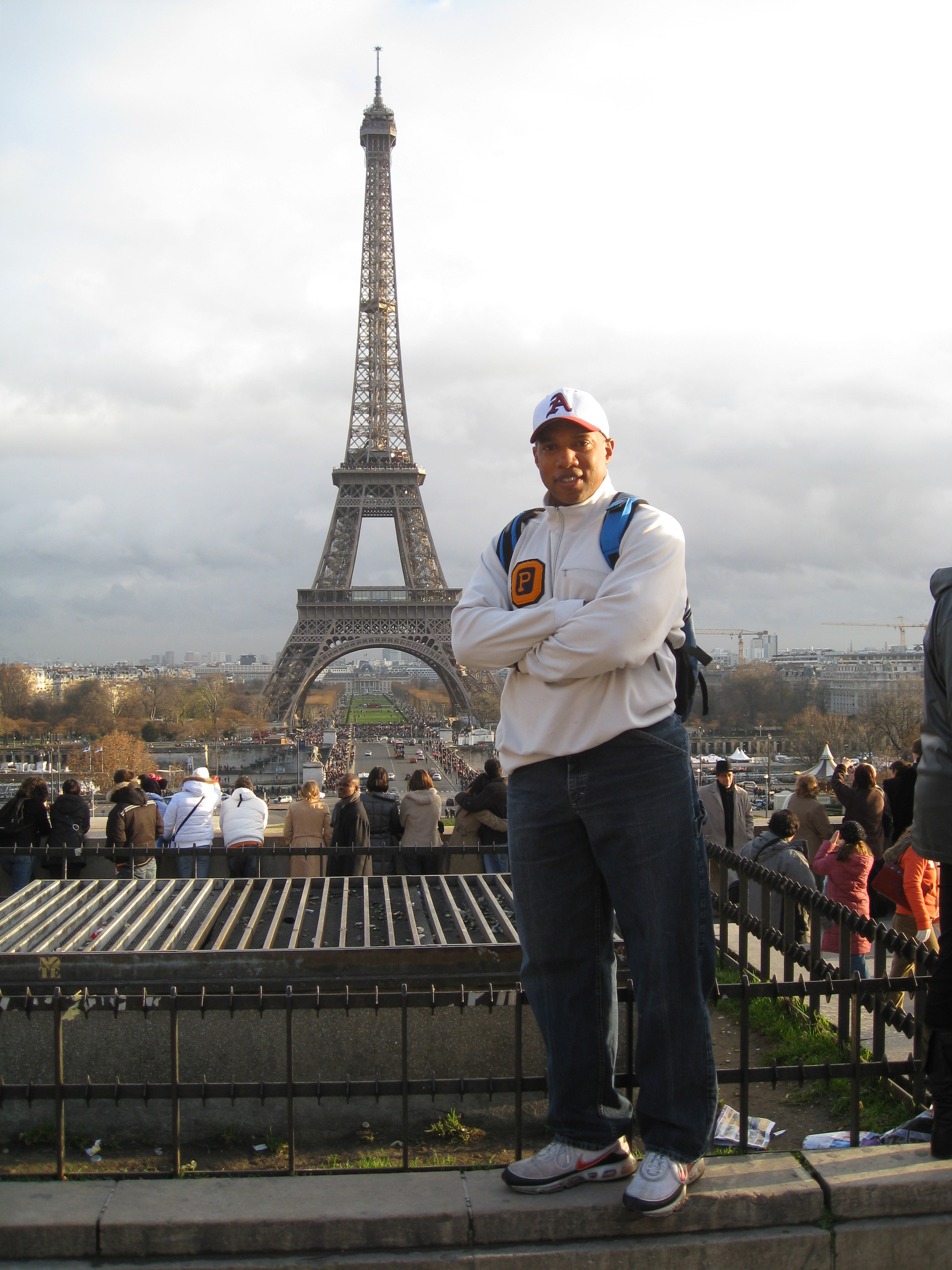John at the Eiffel Tower