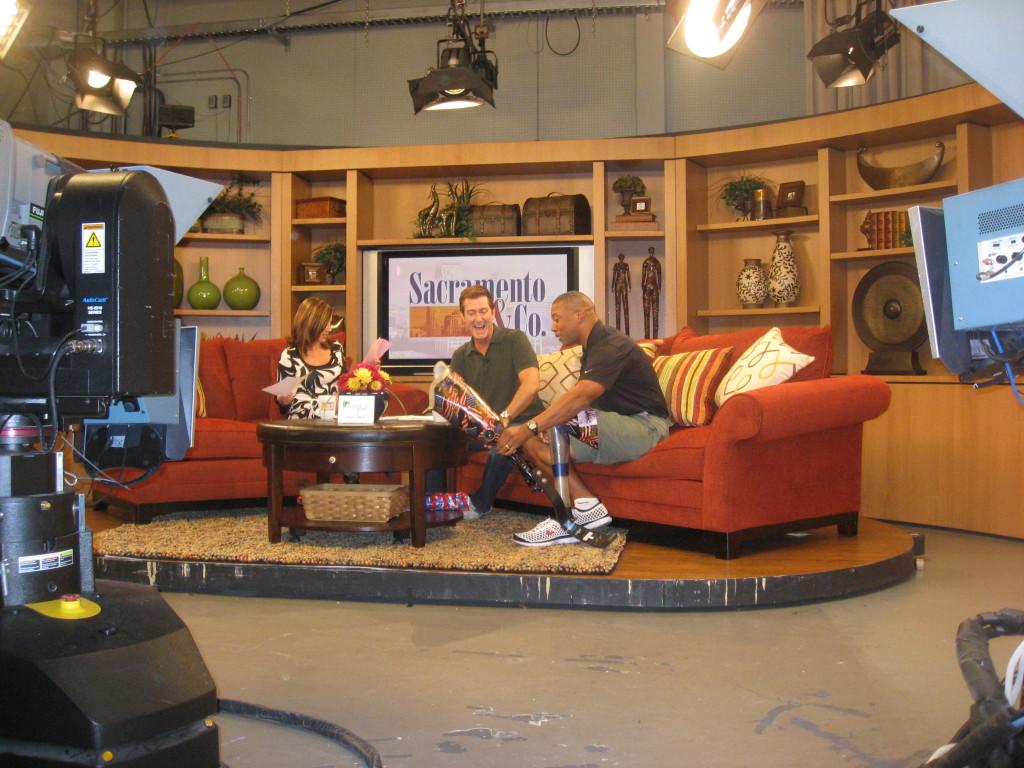 John on the Media Tour