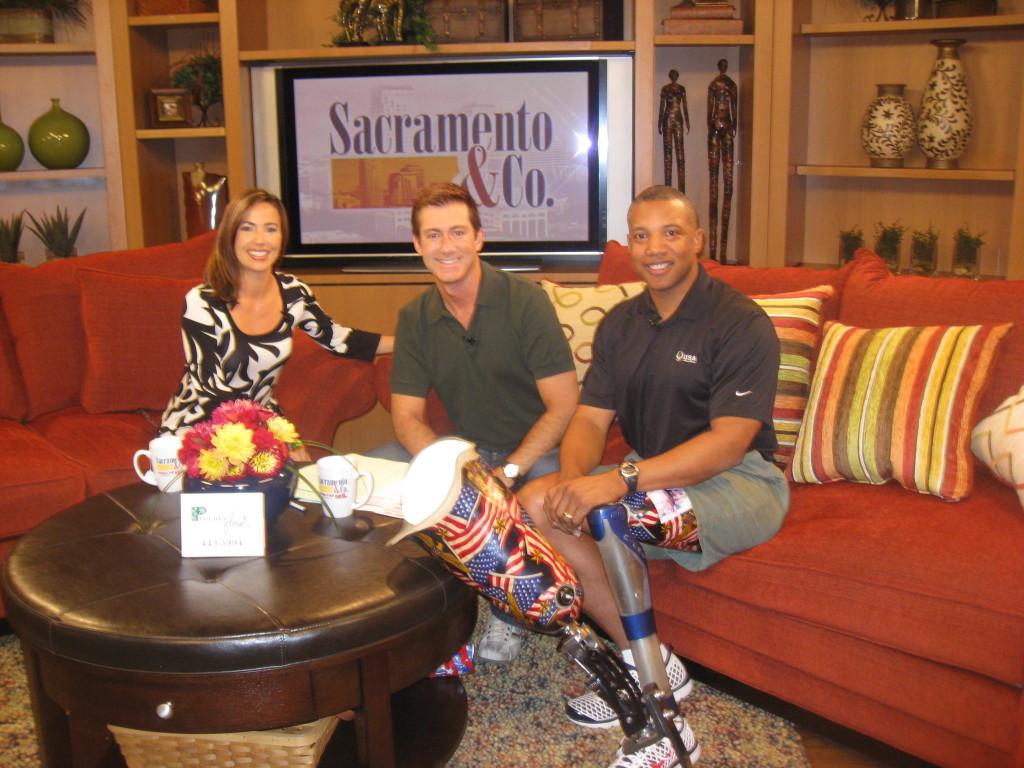 Kristen Simoes, Guy Farris, and JFR on Sacramento & Co.